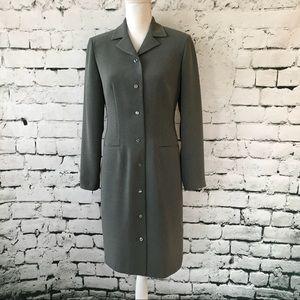 Talbots Long Sleeve Shirt Dress Size 4